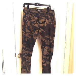 Pants - Skinny camouflage